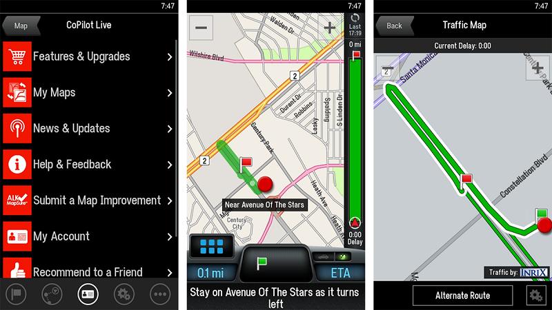 Co Pilot GPS application