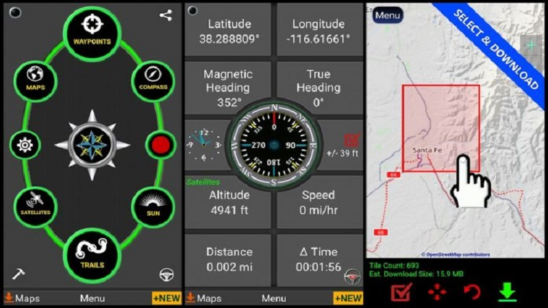 Polaris GPS application